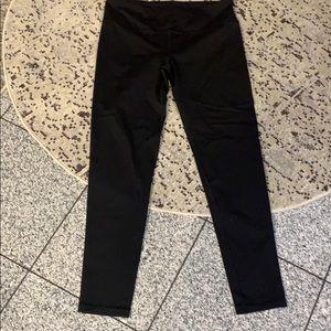 Victoria Secret Sport black leggings w/cinch waist